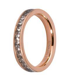 Melano Side Rings ring M01R 4993 RG Crystal op Wereldsieraden.nl!
