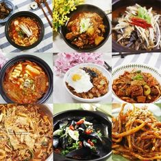 Korean Dishes, Korean Food, Good Food, Yummy Food, Asian Recipes, Ethnic Recipes, Food Design, Food Plating, Main Meals