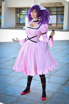 Minene Uryuu From: Mirai Nikki/The Future Diary Cosplayer: pechenka123 Photographer: Stark Source: DailyCosplay.com