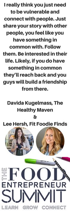 The Food Entrepreneur Summit! Learn from top food entrepreneurs on how they've build their business. 20 Masterclass, 22 speakers, PDF downloads!