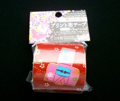 Japanese Fabric Tape Kimono Hair Decorations by FromJapanWithLove #fabric #tape #Japan