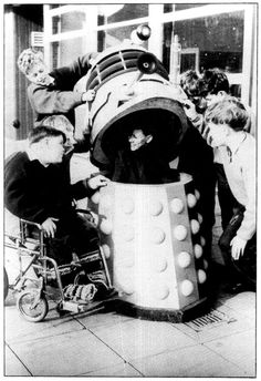 The BBC donated two of the original Dalek props to the Dr Barnardo's Homes for Children after the airing of their debut episodes in 1964.