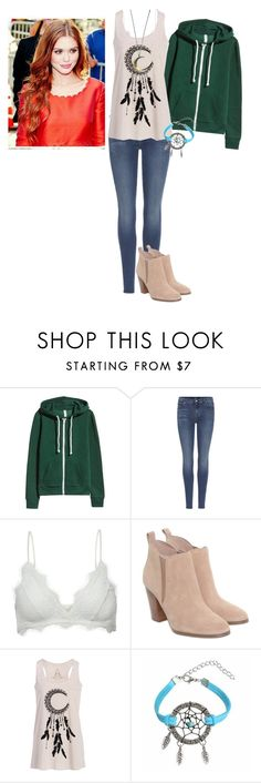 """""""Untitled #459"""" by jcudnohoske ❤ liked on Polyvore featuring 7 For All Mankind, Anine Bing and Michael Kors"""