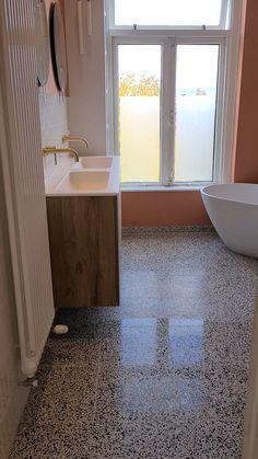Bathroom Flooring, Open Concept, Small Bathroom, Modern Farmhouse, Bath Mat, Tile Floor, Exterior, Inspiration, Design