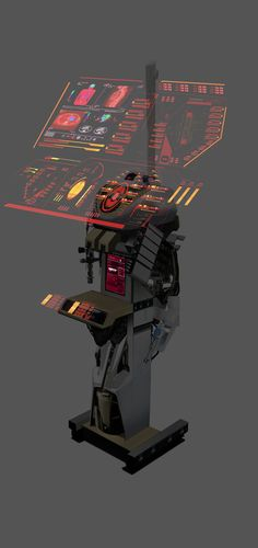 Cyberpunk, Futuristic, Interactive | web development : workspace | future | image | ram55