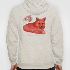 Fox  Hoody by Magdalena Almero - $42.00