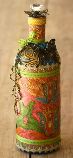 Love this Altered bottle