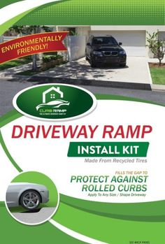 Curb ramp is a diy rubber driveway ramp for lowered cars that curb ramp the ultimate diy rubber driveway ramp kit solutioingenieria