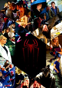 Amazing Spider-Man Collage