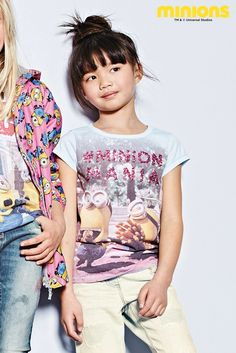 Buy Multi Minions Mania T-Shirt (3-16yrs) from the Next UK online shop
