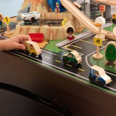 KidKraft Airport Express Espresso Table and Set   Train Set and Table   Pinterest   Airport express Airports and Espresso & KidKraft Airport Express Espresso Table and Set   Train Set and ...