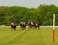 National Polo tournament at Glen Farm in Portsmouth, Rhode Island.