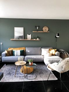 Hold current with the newest small living room decor ideas (chic & modern). Discover great techniques for getting trendy style even although you have a tiny living room. Home Living Room, Interior Design Living Room, Living Room Designs, Living Room Decor, Bedroom Decor, Wall Decor, Colors For Living Room, Apartment Living, Room Wall Colors