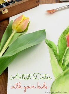 Artist Dates with Kids - inspired by Julia Cameron's The Artist's Way