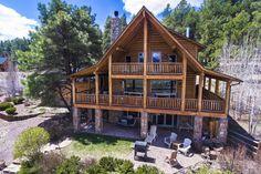 9490 W Hashknife Trl, Flagstaff, AZ 86001. 3 bed, 3 bath, $949,000. Beautiful Log Home w...