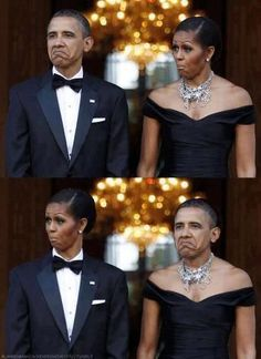 hahaha... it wouldn't matter who these people were.... these faces are hilarious....