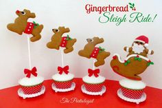How to make a gingerbread sleigh ride (The Partiologist). Cute:-)