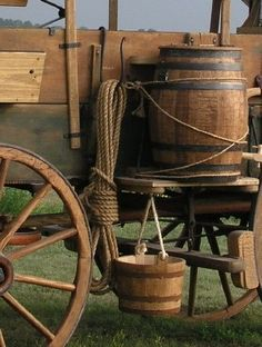 I know you want a chuckwagon. (looks more like a covered wagon to me, there's no cook's box on the tailboard} Horse Drawn Wagon, Old Wagons, Westerns, Covered Wagon, Chuck Wagon, Le Far West, Cowboy And Cowgirl, Wheelbarrow, Old West