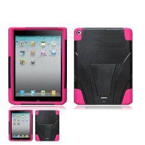 WirelessTentCom [Ipad 2 / Ipad 3] offer iPad 2 / iPad 3 Black and Pink Hardcore Kickstand Case. This awesome product currently limited units, you can buy it now for  , You save - New