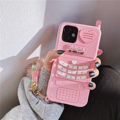 3D Pink Phone iPhone Case - iPhone SE 2020 / 8 / 7