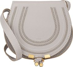 We Adore: The Marcie Small Crossbody from Chloé at Barneys New York in Cashmere Grey