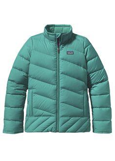 Girls Down Jacket (Teal Green)