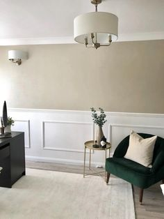I have put together this simple 'how to' tutorial to show you how you can easily add panelling in your home! Stair Paneling, Wall Panelling, Paneling For Walls, Paneling Ideas, Home Room Design, Living Room Designs, Interior Design Wall, Wall Cladding Interior, Diy Interior