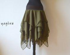 Wrap Skirt Scrap Skirt Pixie Skirt Hula Hoop Festival
