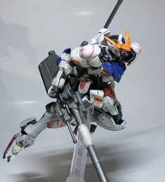 Badass Gundam figure and pose