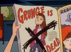 grunge, cartoon, and dead image