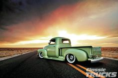 1949 Chevy Thriftmaster 3100 . Tap or click on  the  photo to read about this gorgeous survivor.