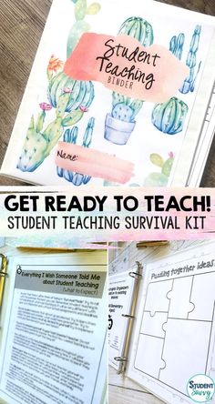 Everything you need to MASTER your Student Teaching experience! Congratulations on starting your journey towards becoming a licensed teacher! By purchasing this resource, it means you are way ah Teacher Planner, Teacher Binder, Teacher Tools, Teacher Hacks, Teacher Stuff, Survival Kit For Teachers, Teacher Survival, Survival Gear, Survival Supplies