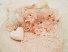 Newborn Baby Photos, Newborn Care, Newborn Photo Props, Baby Girl Newborn, Newborn Photography Props, Newborn Photographer, Chiffon Flowers, Baby Girl Romper, Pearl Color