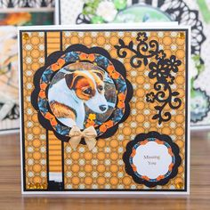 Pawesome card design from the Best of Breeds Range from Pollyanna Pickering! Craftwork Cards, Cardmaking And Papercraft, Dog Cards, Fathers Day Crafts, Create And Craft, Masculine Cards, Pet Birds, Projects To Try, Card Making