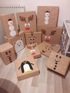 Homemade Christmas, Diy Christmas Gifts, Holiday Fun, Christmas Holidays, Christmas Decorations, Creative Gift Wrapping, Wrapping Ideas, Ideias Diy, Theme Noel