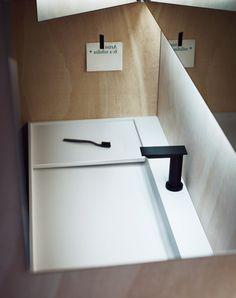 Italian Bathroom Design Company Agape's Super Minimal sink