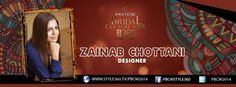 #PBCW2014 day 1 designer #ZainabChottani  This collection is designed considering the Pakistani weddings that are all about colors and events. For live updates from the show tune in to: http://style360.tv/pbcw2014/live.html