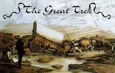 The Great Trek was a movement of Dutch-speaking colonists up into the interior of southern Africa in search of land where they could establish their own homeland, independent of British rule. South Afrika, Good Old Times, History Online, Conflict Resolution, My Land, African History, African Beauty, Mother Earth, Family History