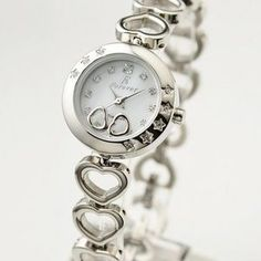 Forever(フォーエバー)  腕時計 1Pダイヤ  FL-1207-1 ホワイトシェル×シルバー - 拡大画像  #レディース時計 #レディース時計プレゼント #レディース時計人気20代 #レディース財布 #レディース時計ブランド #レディース時計人気