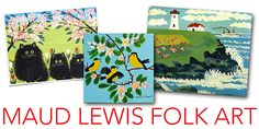 Maud Lewis Folk Art Projects