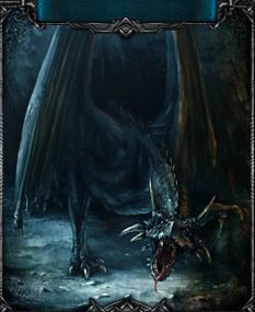 The terrifying Black Dragon. One of the strongest mission monsters that you will encounter!