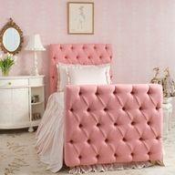 décoration, idée, chambre, fille, rose