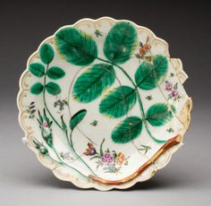 Worcester Porcelain Co./Flight Factory/ Flight and Barr English, 1751-1807 Plate, 1767/99