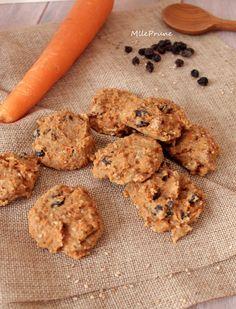 Biscuits aux carottes et amandes complètes (sans gluten)