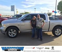 Happy Anniversary to James on your #Ram #1500 from Jake Thursby at Waxahachie Dodge Chrysler Jeep!  https://deliverymaxx.com/DealerReviews.aspx?DealerCode=F068  #Anniversary #WaxahachieDodgeChryslerJeep