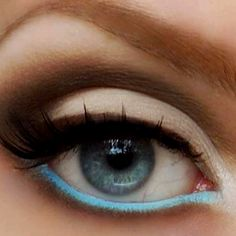 Something to try for spring if you're not too crazy about using colors on your lid <3