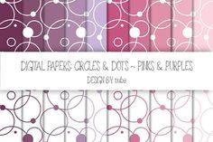 Circles and Dots ~ Seamless Patterns. Patterns