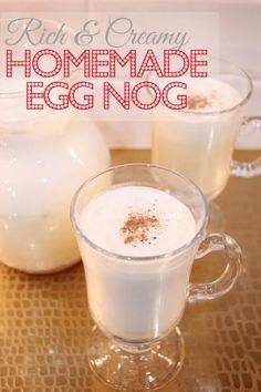 how to make thick creamy eggnog