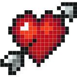 ideas for crochet heart stitch pattern perler beads Easy Pixel Art, Pixel Art Grid, Motifs Perler, Perler Patterns, Cross Stitch Love, Cross Stitch Patterns, Cowl Patterns, Knitting Patterns, Knitting Projects
