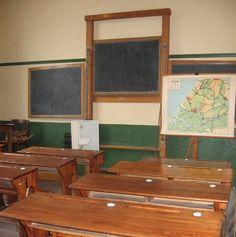 Schoollokaal.